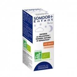 Granions Somdor + Enfant Favorise la Relaxation Sommeil Naturel et Réparateur 125ml