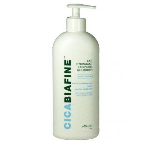 Cicabiafine Lait Hydratant Corporel Quotidien Peaux Sèches 400 ml pas cher, discount