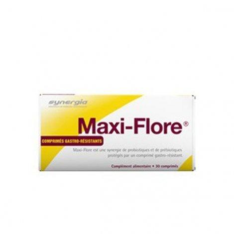 Synergia Maxi-flore Prébiotiques et Probiotiques x30 comprimés pas cher, discount