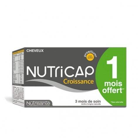 Nutrisanté Nutricap Croissance des Cheveux Nutrisante 3 Mois - 1 Mois Offert x180 gelules pas cher, discount