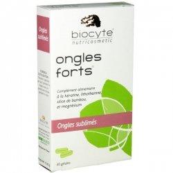 Biocyte Ongles Forts Ongles Sublimés 40 Gelules pas cher, discount