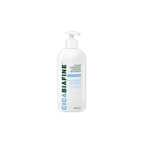 Cicabiafine Baume Hydratant Corporel Quotidien Peaux très sèches 400ml  pas cher, discount