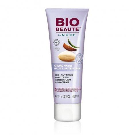 Nuxe Bio Beauté Crème Mains Haute Nutrition au Cold Cream Naturel 50 ml pas cher, discount