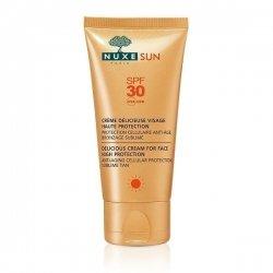 Nuxe Sun Crème Délicieuse Visage Haute Protection SPF30 50 ml