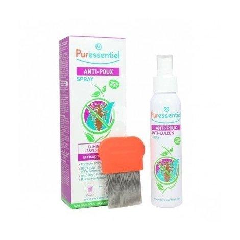 Puressentiel Anti Poux Traitement Complet Lotion 100 ml + Peigne pas cher, discount