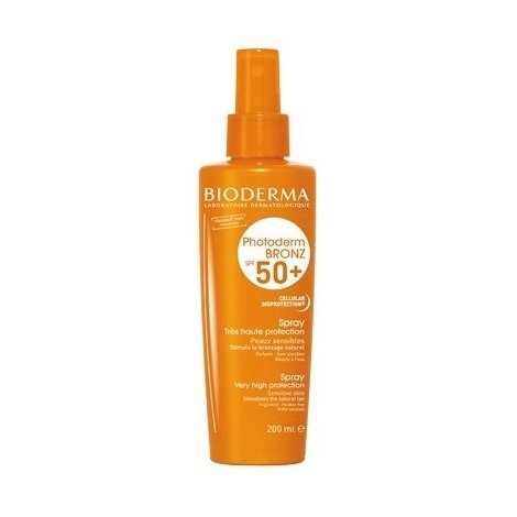 Bioderma Photoderm Bronz Spf 50+ Spray Tres Haute Protection 200 Ml pas cher, discount