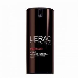 Lierac Homme Premium Fluide Anti-Age Intégral Anti-Rides, Anti-Fatigue, Apaisant 40 ml