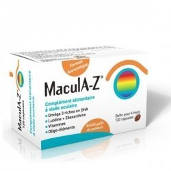 Macula-Z Complement Alimentaire 120 Capsules Boîte pour 4 Mois  pas cher, discount