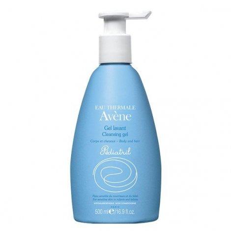 Avène Pédiatril Gel Lavant Corps et Cheveux 500 ml pas cher, discount