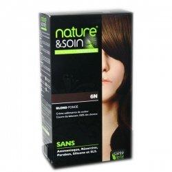 Nature et Soin Coloration Permanente Blond Foncé 6N  pas cher, discount