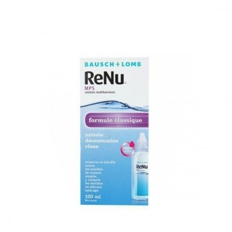 Bausch & Lomb Renu formule classique 120 ml pas cher, discount