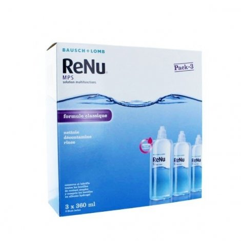 Bausch & Lomb Renu formule Classique 3x360 ml pas cher, discount