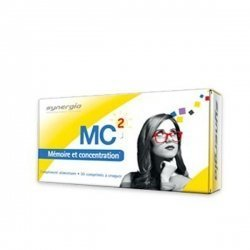 Synergia MC2 Mémoire et Concentration 30 comprimés à Croquer
