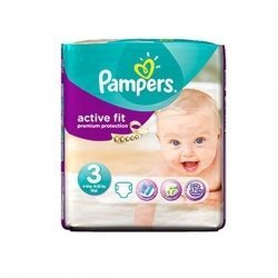 Pampers Active Fit 3 (4-9 KG) Dry Max x26 Couches pas cher, discount