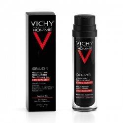 Vichy Homme Idealizer hydratant Multi-Actions Visage Zone et Barbe 50 ml pas cher, discount