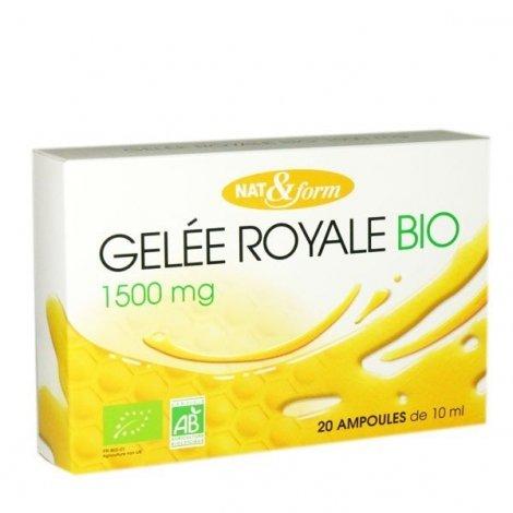 Gelée Royale 1500mg Nat&Form 20amp x10mL pas cher, discount