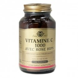 Solgar Vitamine C 1000 Avec Rose Hips 100 Comprimés