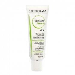 Bioderma Sébium Sérum Concentré Purifiant Peeling Doux Lisse Résorbe 40 ml