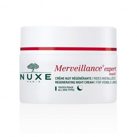 Nuxe Merveillance Expert Nuit Crème Régénérante Rides Installées 50 ml pas cher, discount