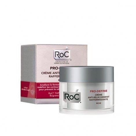 Roc Pro-Define Crème Anti-Relâchement Raffermissante Riche 50 ml pas cher, discount