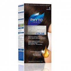 Phyto Color Coloration Permanente Châtain 4 pas cher, discount