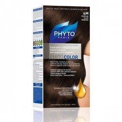 Phytocolor Coloration Permanente Châtain Clair Marron 4M pas cher, discount