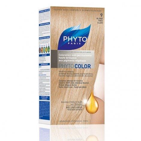 Phytocolor Coloration Permanente Blond Très Clair 9 pas cher, discount