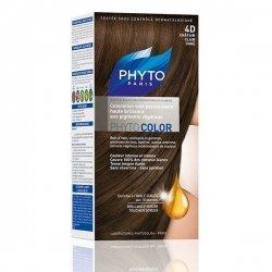 Phyto Color Coloration Permanente Châtain Clair Doré 4D pas cher, discount