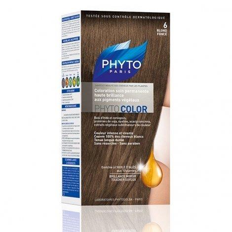 Phytocolor Coloration Permanente Blond Foncé 6 pas cher, discount