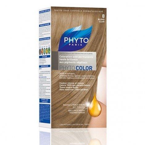 Phytocolor Coloration Permanente Blond Clair 8 pas cher, discount