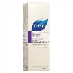 Phyto Phytokératine Shampooing réparateur Keratofiller 200 ml pas cher, discount