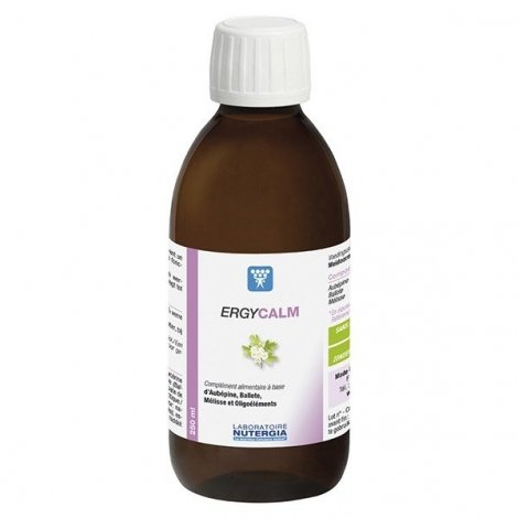 Nutergia Ergycalm Sirop 250 ml pas cher, discount