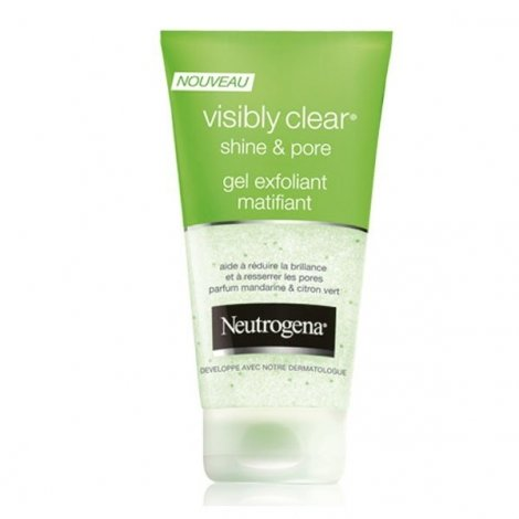 Neutrogena Visibly Clear Gel Exfoliant Matifiant 150 ml pas cher, discount