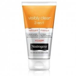 Neutrogena Visibly Clear 2 en 1 Nettoyant Masque 150 ml