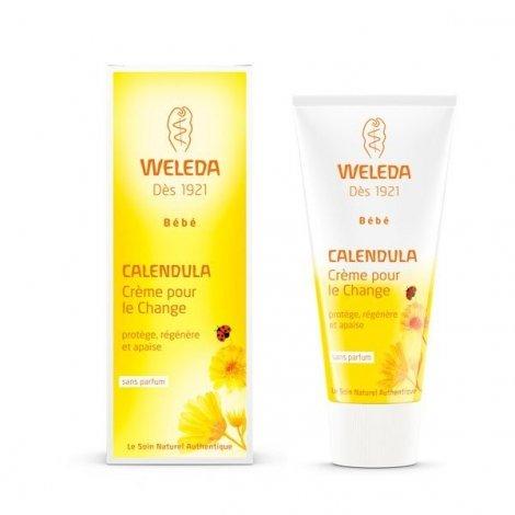 Weleda Bébé Crème Pour Le Change Bio Au Calendula 75 ml  pas cher, discount