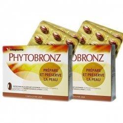 Phytobronz Prépare et Préserve la Peau 2x30 capsules pas cher, discount