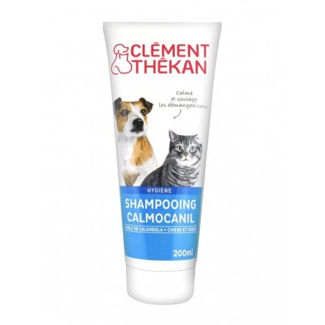 Clément Thékan Shampoing Chiens et Chats Calmocanil Démangeaisons 200 ml pas cher, discount
