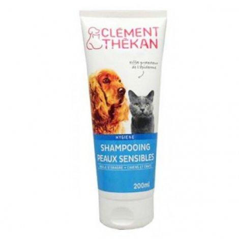Clément Thékan Shampooing Chiens et Chats Peaux Sensibles 200 ml pas cher, discount