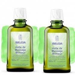 Weleda Duo d'Huile de massage Minceur au Bouleau 2x100 ml pas cher, discount