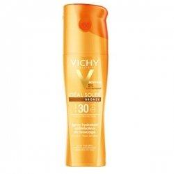 Vichy Ideal Soleil Spray Solaire Bronze SPF 30 Hydratant Optimisateur de Bronzage 200 ml pas cher, discount