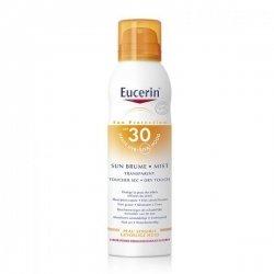 Eucerin Sun Brume Solaire Transparente Toucher Sec 30 200 ml  pas cher, discount