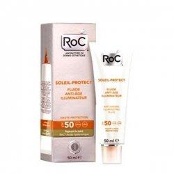 Roc Soleil-Protect Fluide Anti-Age Illuminateur SPF 50 50 ml