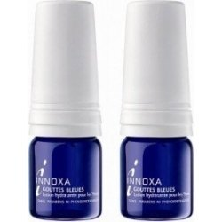Duo Innoxa Gouttes Bleues Lotion Hydratante Yeux 2x10 ml pas cher, discount