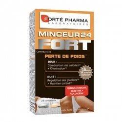 Forte Pharma Minceur 24 Fort Perte de Poids Jour/Nuit 28 comprimés