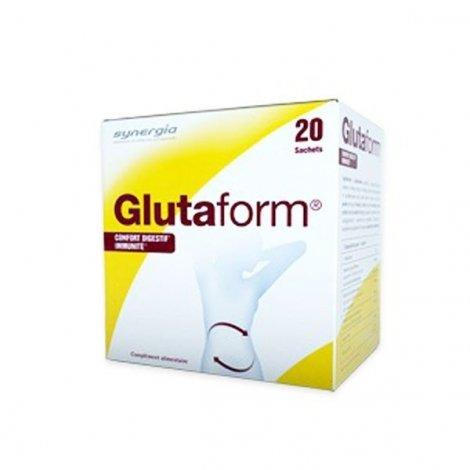 Synergia Glutaform Confort Digestif Immunité 20 Sachets pas cher, discount