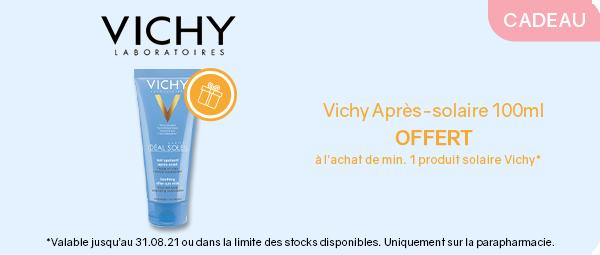 Vichy solaire after sun offert